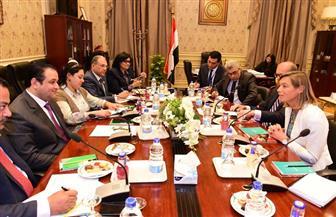 علاء عابد يستعرض الأوضاع السياسية وحالة حقوق الإنسان بمصر مع وفد هولندي