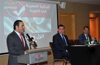 """""""مستقبل وطن"""" يدعو الجالية المصرية بالكويت المشاركة في الاستفتاء على التعديلات الدستورية"""