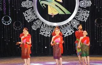 """رقصات """"صوفية تركمانية"""" في ختام اليوم الثالث لمهرجان دمنهور للفلكلور  صور"""