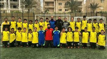 فريق الناشئين 2005 بدجلة يحتفلون بمدربهم علاء عبده بمناسبة انتهاء الموسم