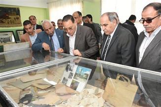 محافظ الشرقية يتفقد متحف شهداء مدرسة بحر البقر في ذكرى المجزرة الصهيونية | صور