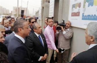 وزير الزراعة يضع حجر الأساس لمعهد بحوث صحة الحيوان بحي الكوثر فى سوهاج | صور