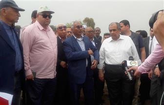 وزير الزراعة يزور محطة البحوث بجزيرة شندويل بسوهاج
