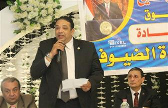 أمين شباب الحركة الوطنية يحث المواطنين على المشاركة في الاستفتاء على الدستور بكفر الشيخ | صور