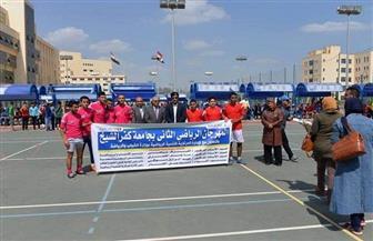 انطلاق مهرجان رياضي لطلاب الكليات والمدن الجامعية برعاية رئيس جامعة كفر الشيخ   صور