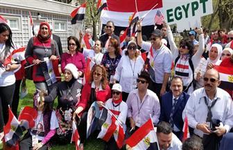 المصريون في أمريكا يردون بقوة على محاولات الإخوان البائسة للاستقواء بالكونجرس ضد مصر |فيديو وصور