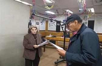 "أحمد بدير ونشوى مصطفى يبدآن تسجيل ""الشهبندر"" | صور"