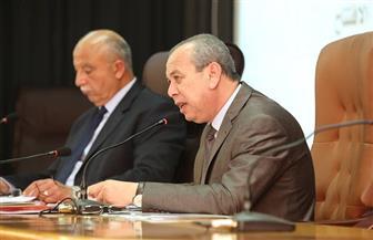 محافظ كفر الشيخ يمهل شركة الغاز أسبوعين لاستكمال الأعمال | صور