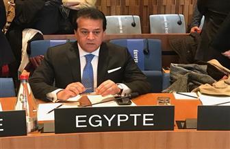 """وزير التعليم العالي يلقي كلمة مصر أمام الدورة 206 للمجلس التنفيذي لـ""""اليونسكو"""" بباريس"""