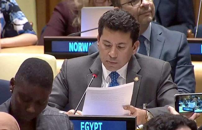 أشرف صبحي: الاستثمار فى الشباب وتمكينهم أحد أولويات الرئيس السيسي -