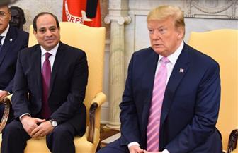 دونالد ترامب: أحرزنا تطورا كبيرا مع مصر فى ملف مكافحة الإرهاب