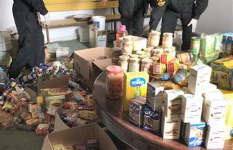 إعدام مواد غذائية غير صالحة وغلق 3 محلات في سوهاج | صور