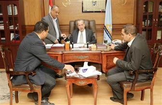 محافظ كفرالشيخ يتابع إنشاءات مستشفى الرياض المركزي