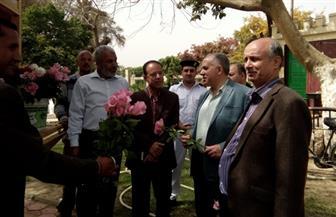 وزير الري يتفقد عددا من حدائق القناطر الخيرية ويتابع أعمال التطوير بها| صور