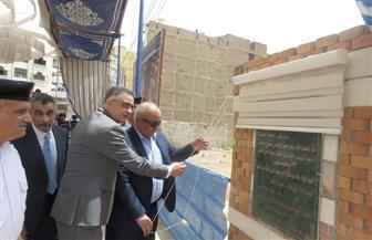 وضع حجر الأساس لعمارات جمعية اللوتس لإسكان ضباط مديرية أمن الأقصر | صور