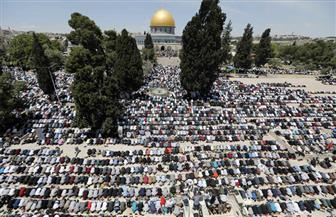 180 ألف مصل أدوا صلاة أول جمعة من رمضان في المسجد الأقصى