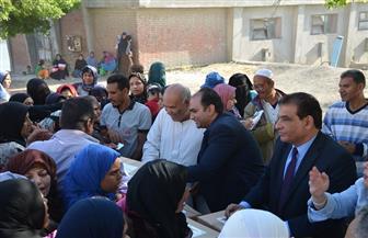 توزيع 400 كرتونة مواد غذائية للأسر الأكثر احتياجا بقرى أبيس وباب الأحرار بالإسكندرية | صور