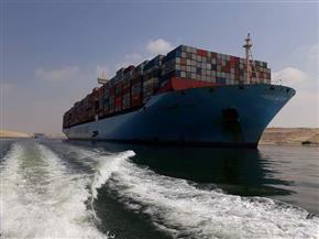 46 سفينة عبرت القناة بحمولة 3.3 مليون طن..اليوم