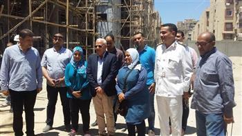"""محافظ بورسعيد يتابع تنفيذ عدد من المشروعات الخدمية ويطمئن على استعداد الطلاب لامتحان """"التابلت""""   صور"""