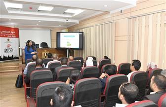 هويدا بركات: نستهدف تدريب 4 آلاف شاب في 7 محافظات على ريادة الأعمال | صور
