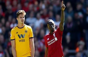 ليفربول يحرز الهدف الأول في مرمي وولفرهامبتون