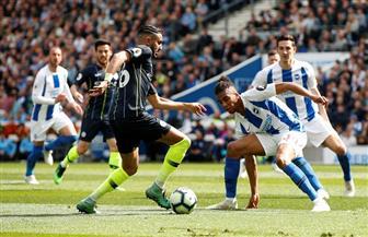 مانشستر سيتي يسجل الهدف الثالث في مرمى برايتون ويقترب من التتويج بالدوري الإنجليزي