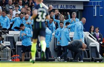 مانشستر سيتي يحسم لقب الدوري الإنجليزي بهدف رابع في مرمى برايتون