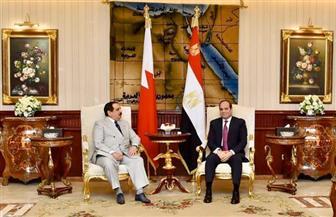 الرئيس السيسي يستقبل ملك البحرين ويبحثان سبل تعزيز العمل العربي المشترك|صور وفيديو