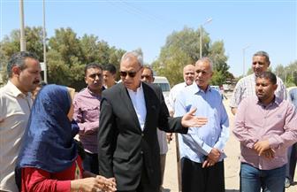 محافظ قنا: توريد 68 ألف طن قمح لصوامع وشون المحافظة حتى الآن