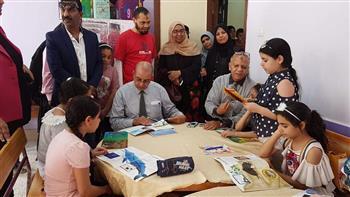 وكيل تعليم بورسعيد يتفقد مراكز الأنشطة الصيفية المجانية بإدارتي شمال وجنوب التعليميتين