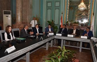 جامعة عين شمس تدشن أولى خطوات التأمين على منشآتها