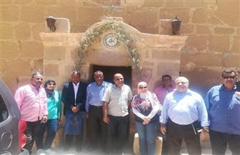 مدير برنامج الأغذية العالمي للأمم المتحدة بمصر يبدى انبهاره بمدينة سانت كاترين | صور