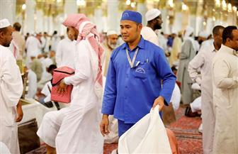 وكالة شئون المسجد النبوي: 93 طنا معدل ما يتم رفعه من النفايات يوميا خلال شهر رمضان المبارك