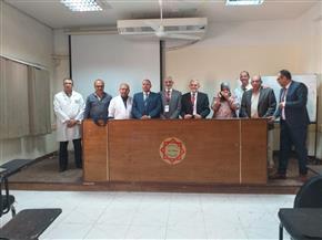 مستشفى الفيوم العام يحصل على الزمالة المصرية في الكبد والمناظير | صور