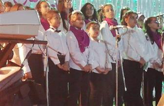 أطفال كورال الأنفوشي يتألقون في ليالي رمضان بالإسكندرية | صور