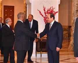 بسام راضي: الرئيس السيسي يستقبل رئيس جنوب إفريقيا الأسبق| صور وفيديو