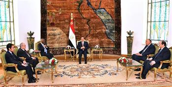 الرئيس السيسي يؤكد الأهمية التي توليها مصر لدعم الاستقرار والسلام في السودان