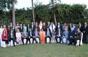 سفيرة مصر في قبرص تنظم حفل إفطار بحضور رئيس البرلمان القبرصي ووزراء الخارجية والدفاع