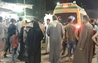 مصرع شخص دهسه قطار بسبب الزحام بمزلقان العياط