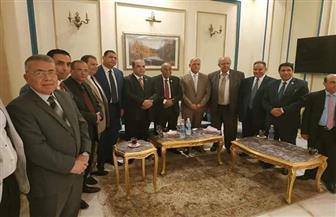 رئيس هيئة قضايا الدولة ومحافظ المنوفية بحفل الإفطار السنوي لفرع شبين الكوم ثان