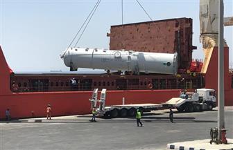 وصول 30 ألف طن ألمونيوم لميناء سفاجا وتداول 500 شاحنة بموانى البحر الأحمر