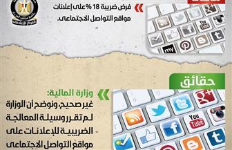 فرض ضريبة 18% على إعلانات مواقع التواصل الاجتماعي.. الحكومة توضح الحقيقة