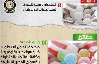 الحكومة تنفي انتشارحلوى صينية بالأسواق تسبب تجلطات الدم للأطفال