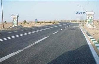 إنارة الطريق الدولي بطول 70 كيلو بكفر الشيخ