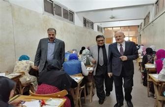 رئيس جامعة الزقازيق يتفقد لجان الامتحانات في الفترة المسائية   صور