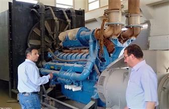 تركيب طلمبات جديدة بمحطة المياه في الروبيكي استعدادا لاستقبال الصيف | صور