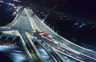 """الصحافة ووسائل الإعلام في سلطنة عمان: مصر تدشن أعرض جسر في العالم وموسوعة """"جينيس"""" تسجله"""