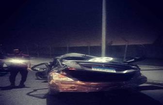 مصرع وإصابة 9 أشخاص في حادث تصادم ٤ سيارات بمحور جوزيف تيتو