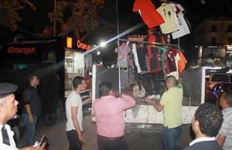 محافظ القاهرة: إزالة مواقف الميكروباصات العشوائية والباعة الجائلين في بولاق والأزبكية |صور