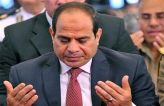الرئيس السيسي يؤدي صلاة الجمعة بمسجد المشير